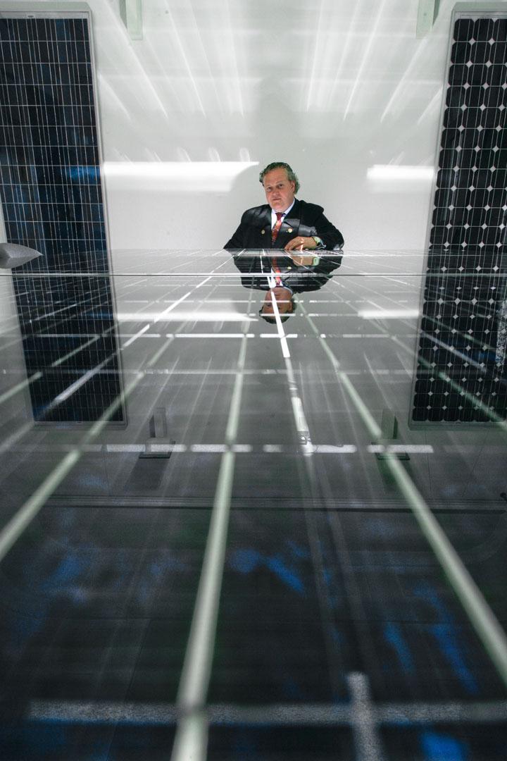 Frank Asbeck, Geschäftsführer Solarworld AG