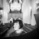 Zhu Xiao-Mei Generalprobe zum Konzert in der Thomaskirche zu Leipzig. Bach Goldbergvariationen. DVD Produktion der Accentus Music GmbH.