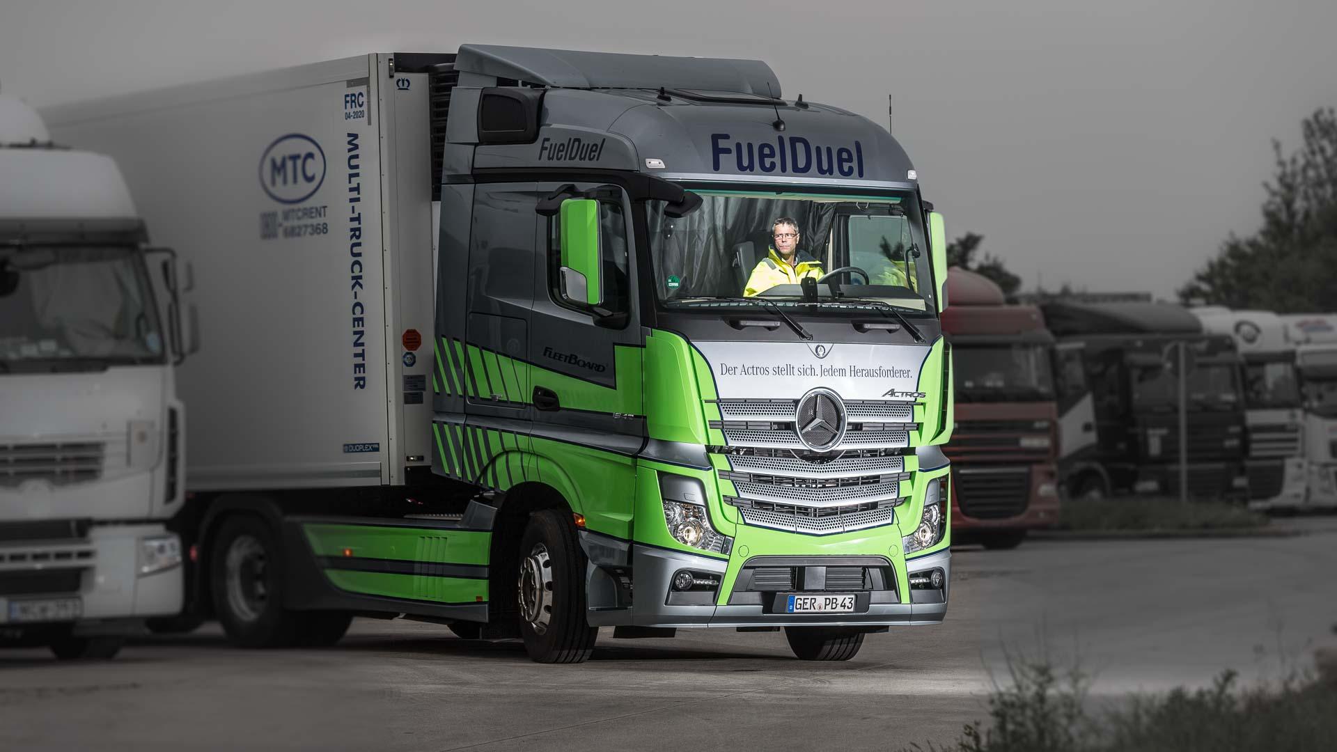 """für Mercedes Benz Magazin """"Transport"""""""