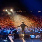 """""""Rock'n'Roll Arena in Jena - für eine bunte Republik Deutschland""""mit Udo Lindenberg und dem Panikorchester, Julia Neigel, Silly mit Anna Loos, Peter Maffay, und anderen."""